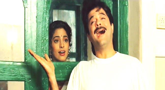 Anil Kapoor and Juhi Chawla, Andaz