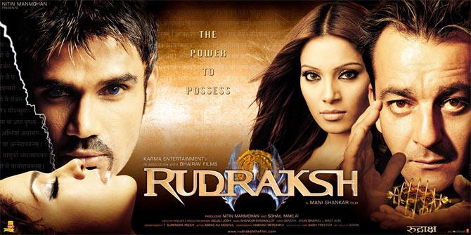 The Rudraksh poster