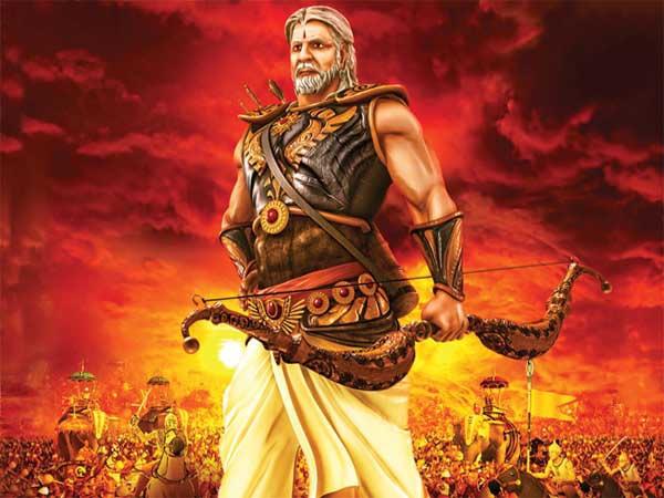 Amitabh Bachchan's Bheeshma in Mahabharat