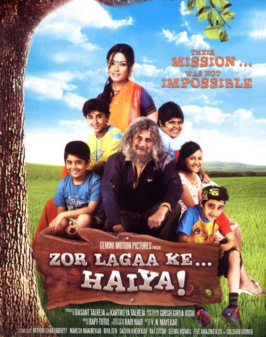 The Zor Lagaa Ke... Haiya! poster