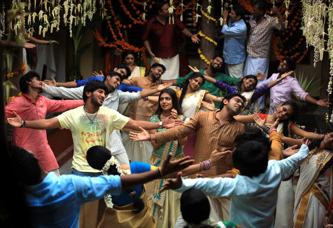 A scene from Bangalore Days