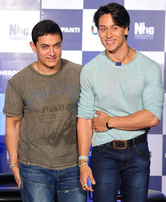 Aamir Khan and Tiger Shroff