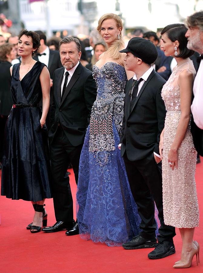 Jeanne Balibar, Tim Roth, Nicole Kidman, director Olivier Dahan and Paz Vega