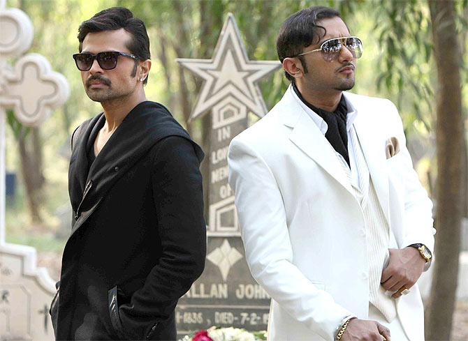 Himesh Reshammiya and Honey Singh in The Xpose