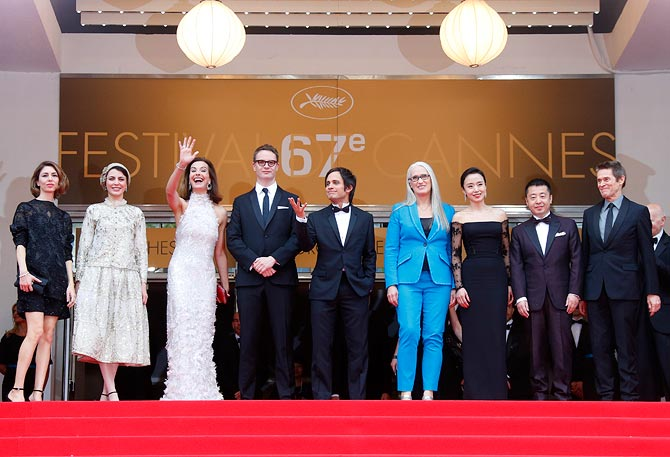 Sofia Coppola and the Cannes 2014 jury