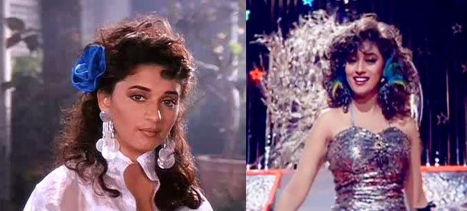 Madhuri Dixit in Zindagi Ek Jua and Khel