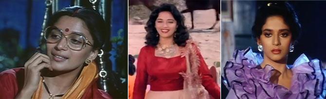 Madhuri Dixit in Sangeet, 100 Days, Jamai Raja