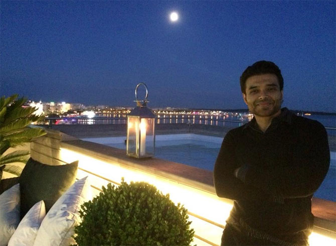 Uday Chopra in Cannes