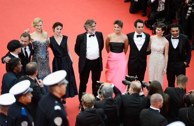 Olivier Dahan, Tim Roth, Nicole Kidman, Parker Posey, Pierre-Ange Le Pogam, Arash Ame, Paz Vega and Uday Chopra