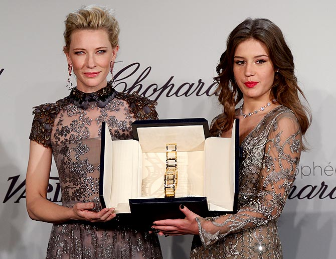 Cate Blanchett and Adele Exarchopoulos