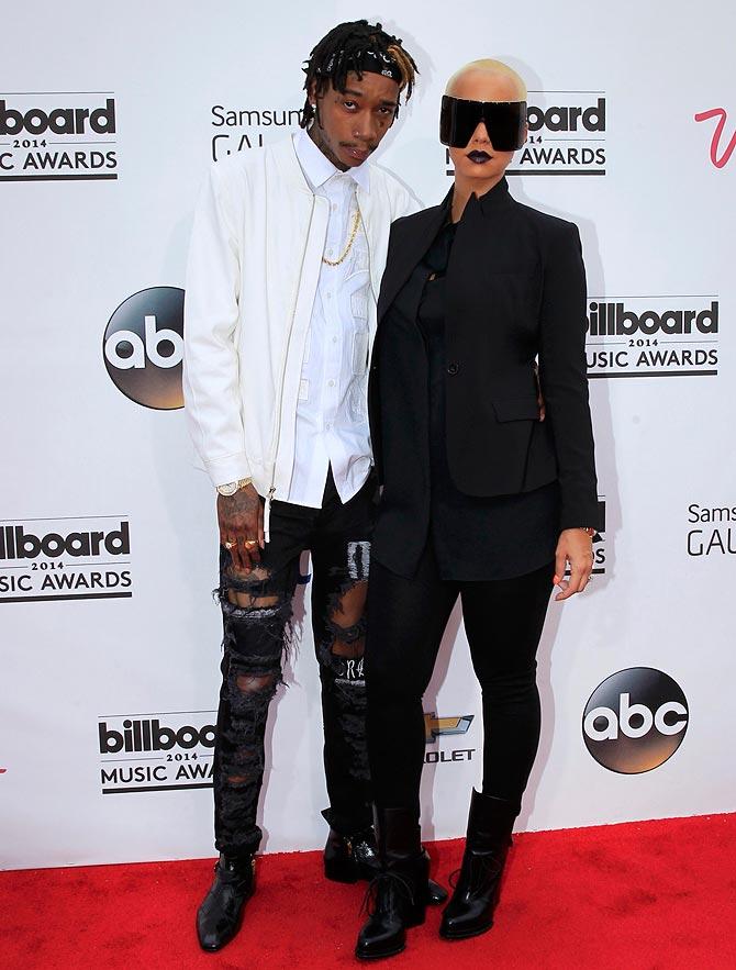 Wiz Khalifa and Amber Rose
