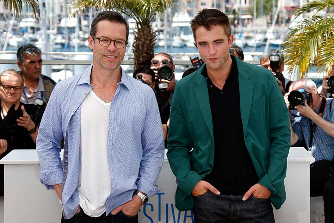 Guy Pearce and Robert Pattinson