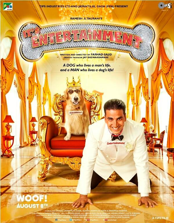 Movie poster of It's Entertainment
