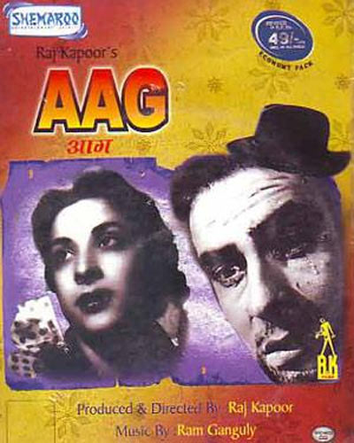 Movie poster of aag