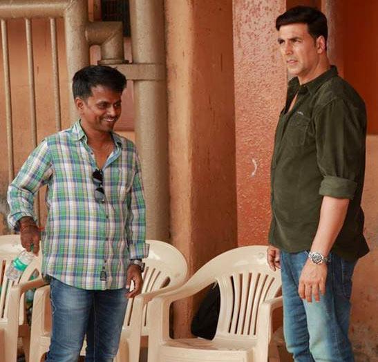 A R Murugadoss and Akshay Kumar