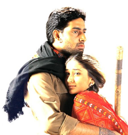 Abhishek Bachchan and Kareena Kapoor in Refugee
