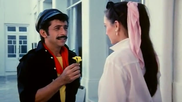Naseeruddin Shah and Sanjana Kapoor in Hero Hiralal