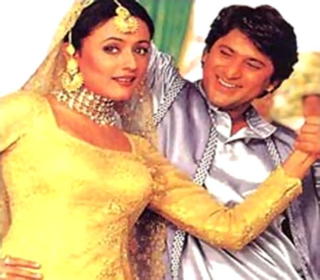 Namrata Shirodkar and Arshad Warsi in Hero Hindustani