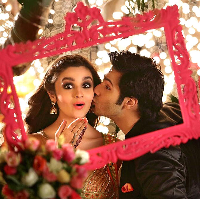 Alia Bhatt and Varun Dhawan in Humpty Sharma Ki Dulhania
