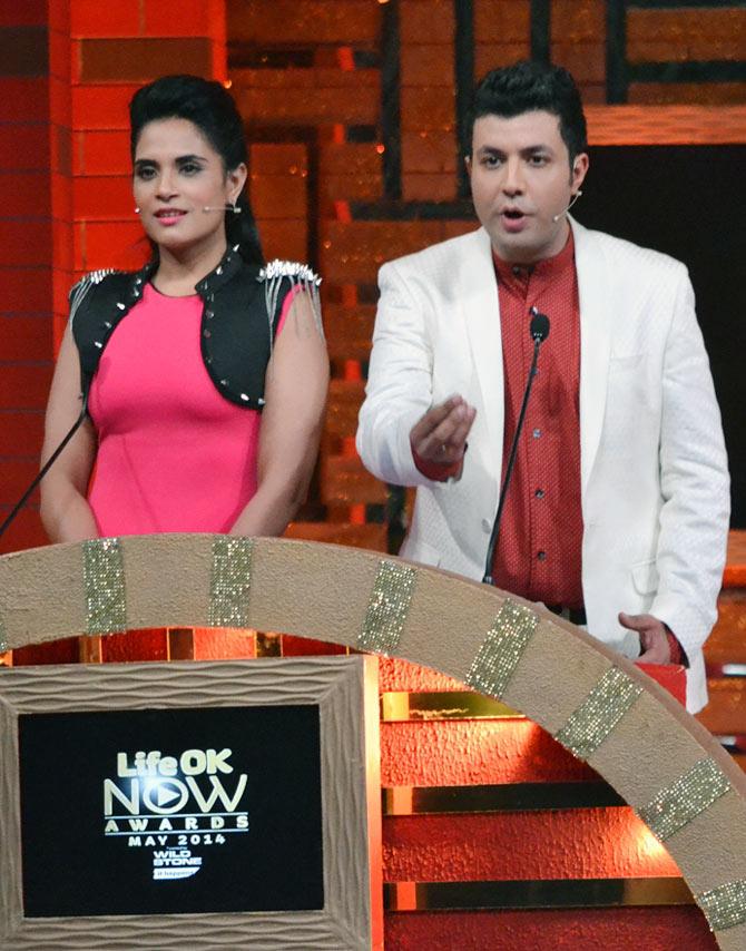Richa Chaddha and Varun Sharma