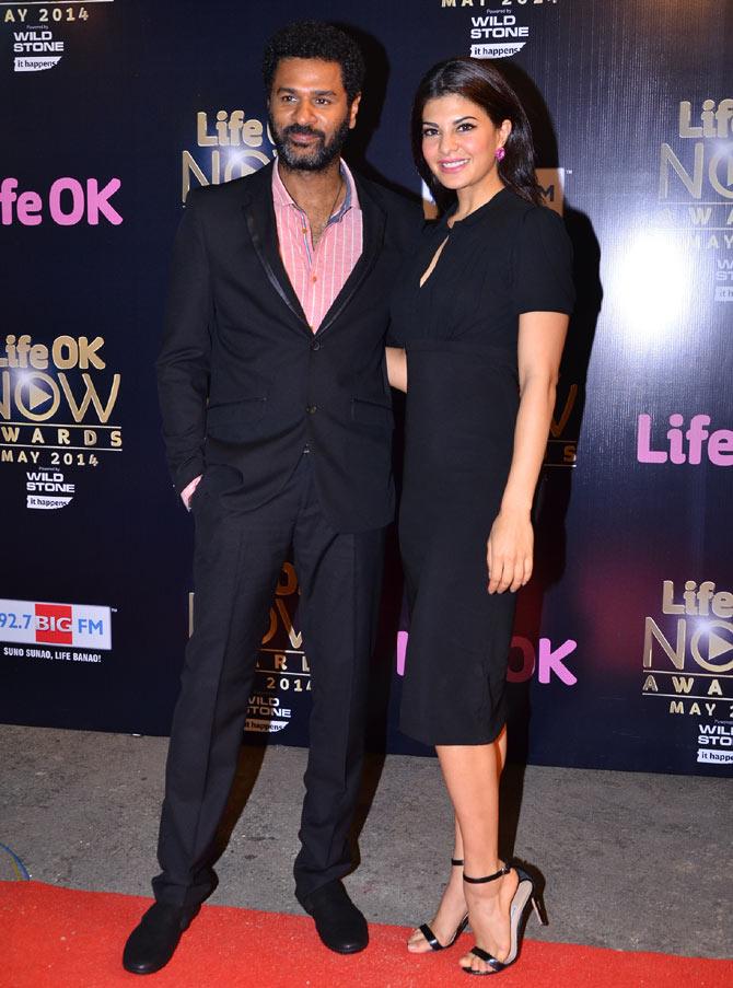 Prabhu Dheva and Jacqueline Fernandez