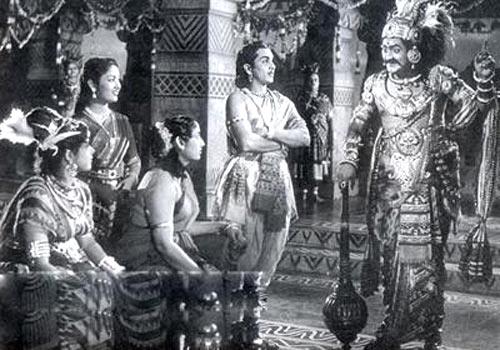 A scene from Mayabazar