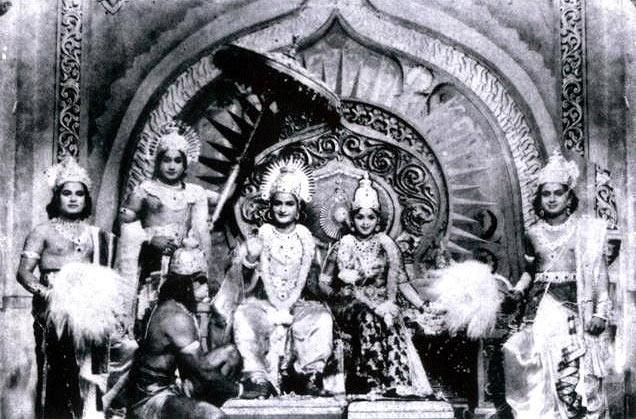 A scene from Sampoorna Ramayanam