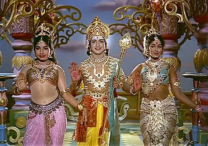 A scene from Kandan Karunai