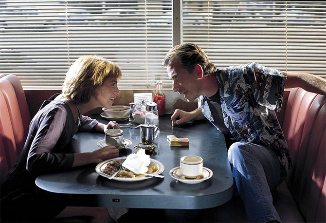 Amanda Plummer and Tim Roth in Pulp Fiction