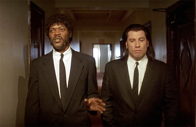 careers of the pulp fiction duo john travolta and samuel l jackson And keitel are, the actor who reigns over pulp fiction is samuel l jackson jackson again worked with john travolta in basic throughout jackson's career.