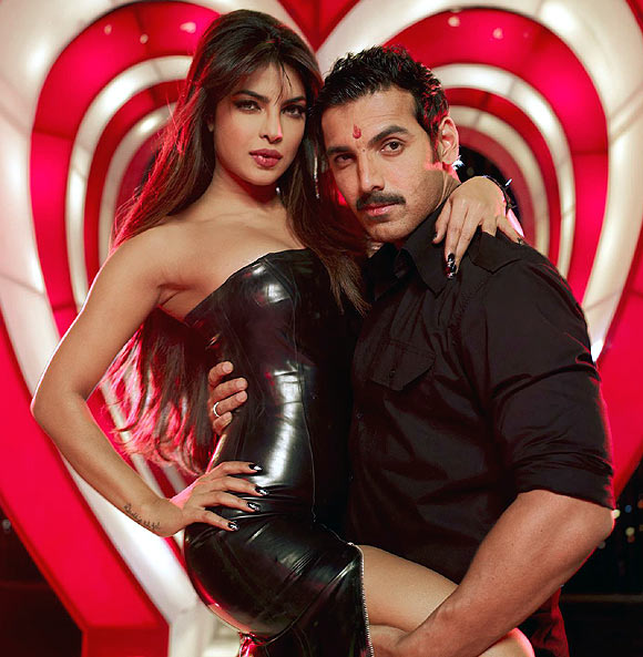 Priyanka Chopra with John Abraham in Shootout At Wadala