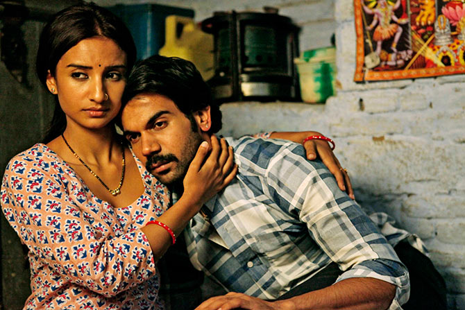Patralekhaa and Rajukummar Rao in City Lights
