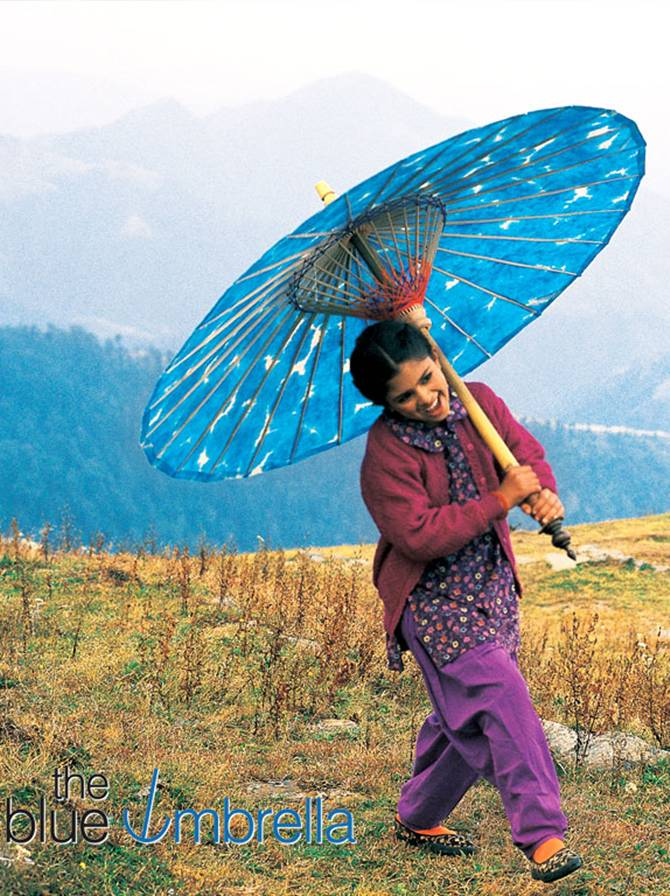 Shreya Sharma in The Blue Umbrella