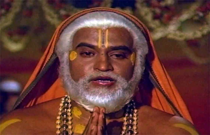Rajinikanth in Sri Raghavendra