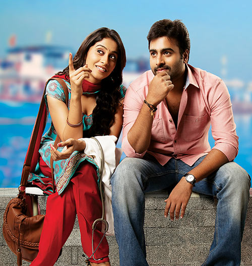 Nara Rohit and Regina Cassandra in Sankara