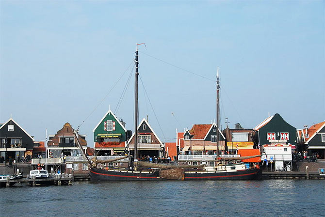Volendam is a fishermen village. Inset: Rajkummar Rao