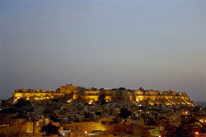Fort of Jaisalmer, Rajasthan