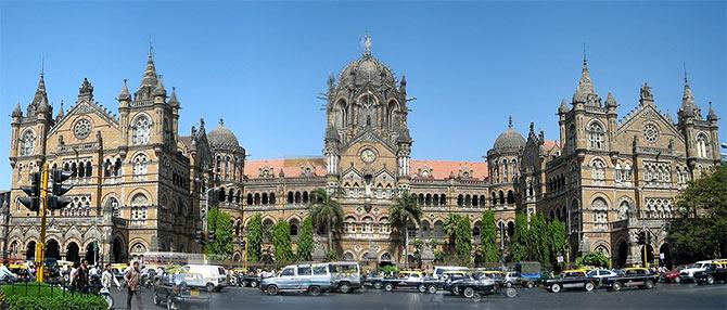 Chatrpati Shivaki Terminus in Mumbai