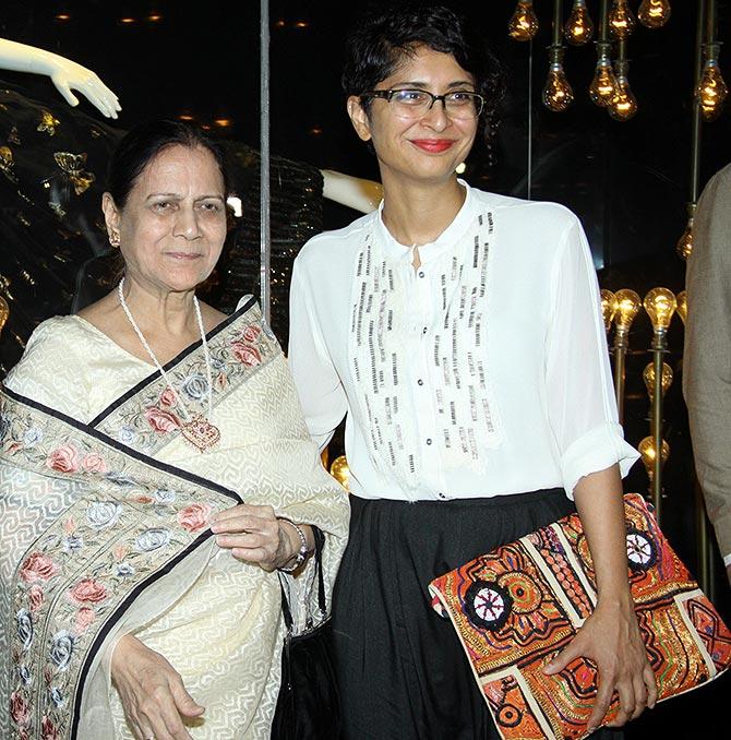 Zeenat Hussain and Kiran Rao