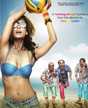 Movie poster of The Shaukeens