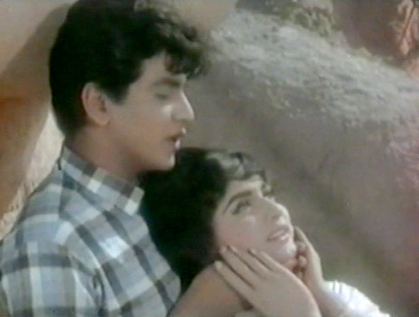 Jeetendra and Rajshree in Geet Gaya Patharon Ne
