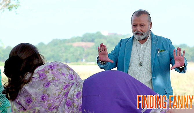 Dimple and Pankaj Kapur in Finding Fanny