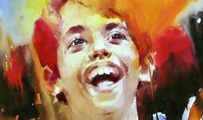 Darshaal Safary painting in Taare Zameen Par