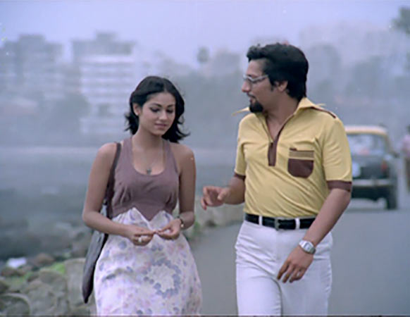 Amol Palekar and Tina Munim in Baton Baton Mein