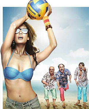 A scene from The Shaukeens
