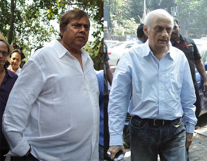 David Dhawan and Mukesh Bhatt