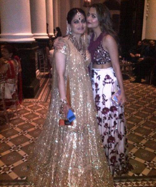Salman s khan sisters wedding dress