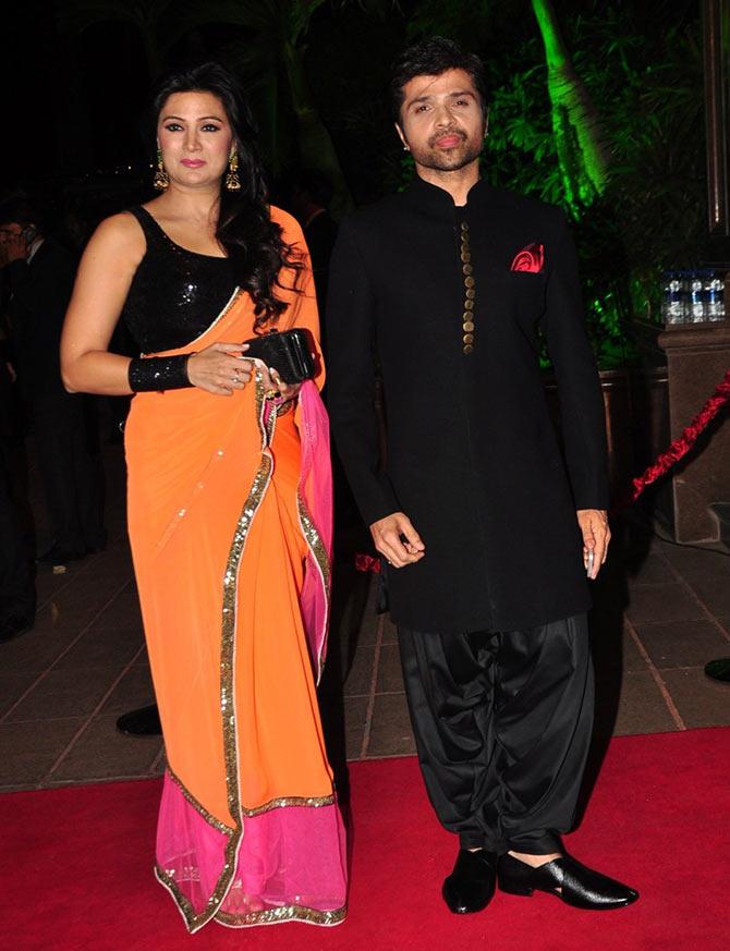 Arpita Aayushs Wedding Reception Salman And Friends Arrive