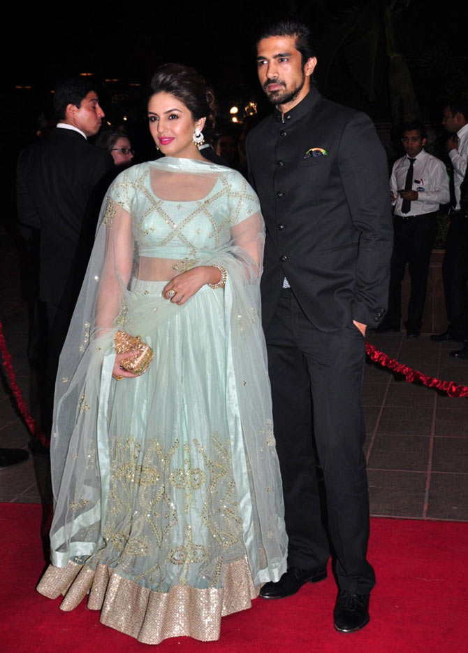 Huma Qureshi with brother Saqib Saleem