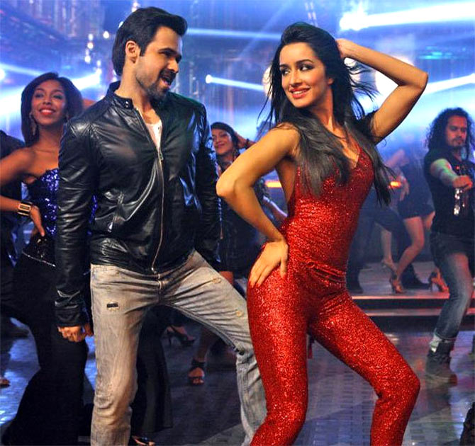 Emraan Hashmi and Shraddha Kapoor in Ungli